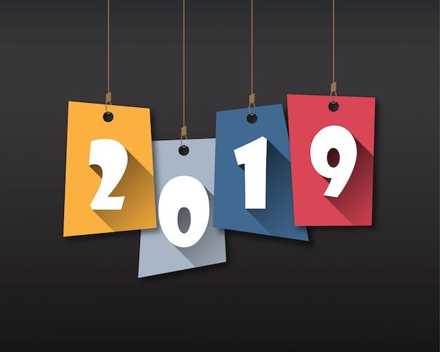 Felice nuovo anno 2019