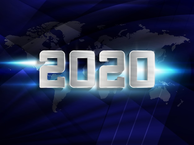 Felice nuovo anno 2020.