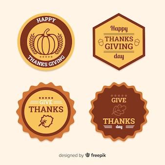 Felice raccolta del giorno del ringraziamento