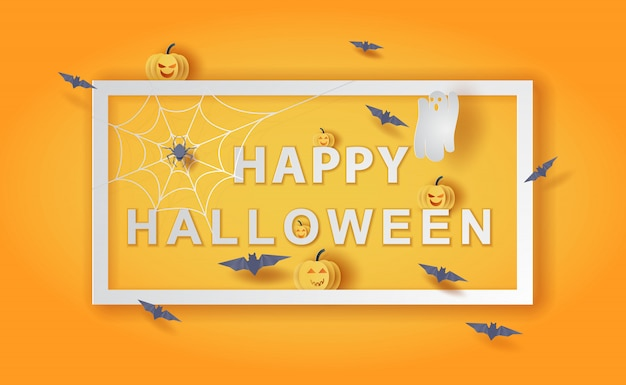 Felice sfondo di halloween