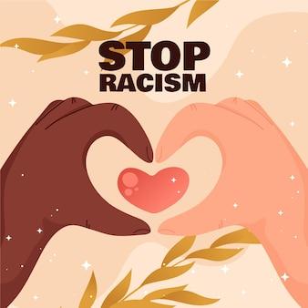 Ferma il concetto di razzismo