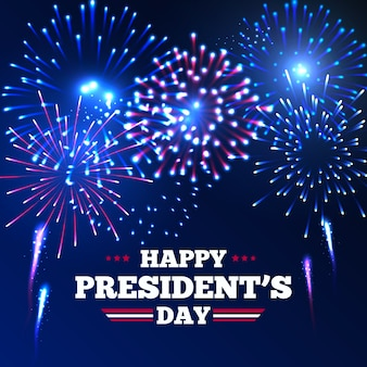Festa del presidente e festa americana dei fuochi d'artificio