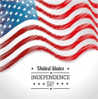 Festa dell'indipendenza degli stati uniti, celebrazione del 4 luglio