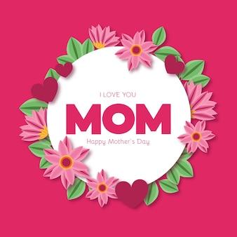 Festa della mamma floreale
