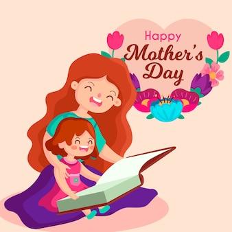 Festa della mamma illustrazione