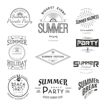 Festa delle vacanze estive