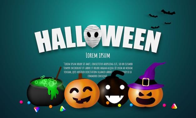 Festa di carnevale di halloween,