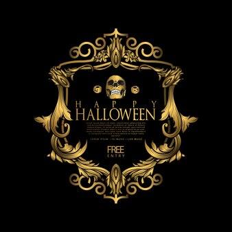 Festa di lusso di halloween