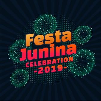 Festa junina 2019 lettering