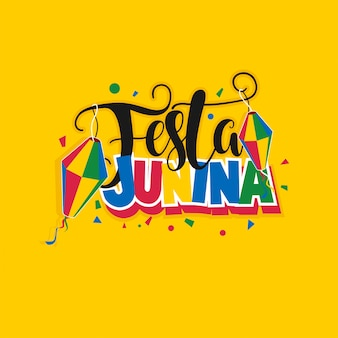 Festa junina illustration background