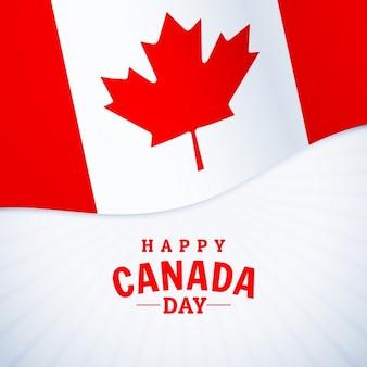 Festa nazionale giorno felice saluto canada