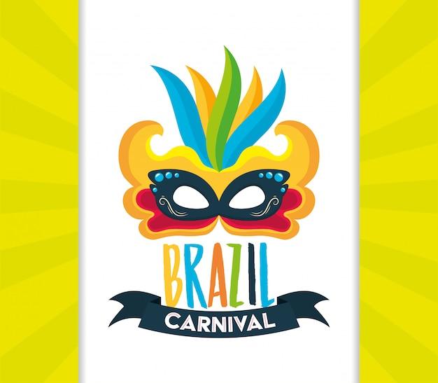 Festival del carnevale in brasile