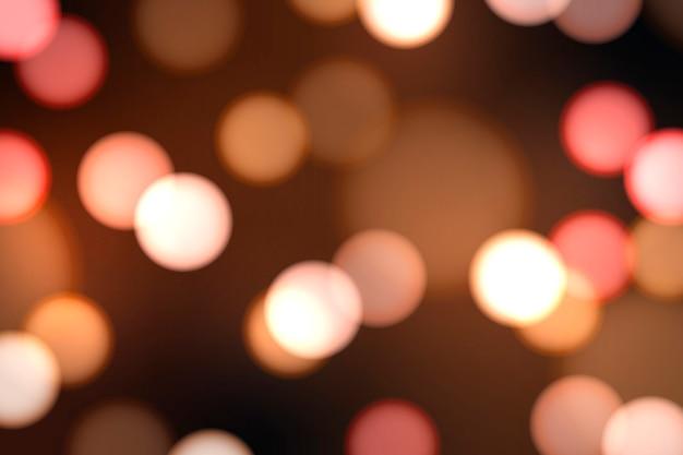 Festive luci sfocate