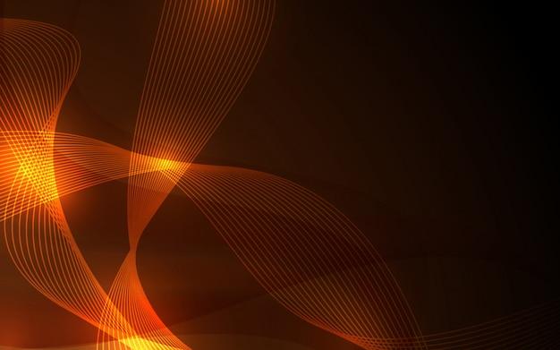 Fiamma e sfondo color oro