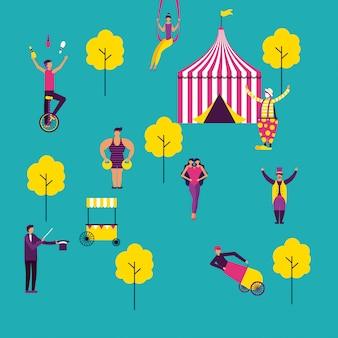 Fiera del divertimento circense