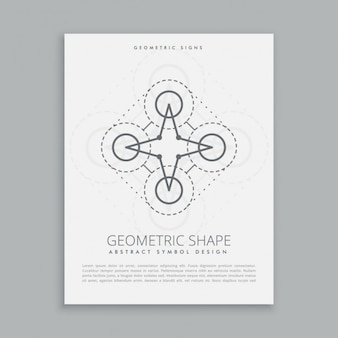 Figura geometrica poster