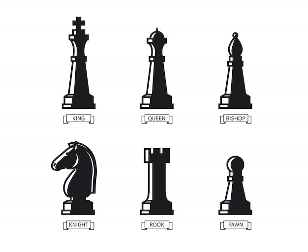 Figure di scacchi con nomi
