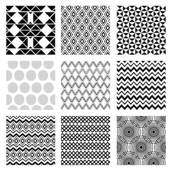 Figure geometriche monocromatiche imposta sfondi