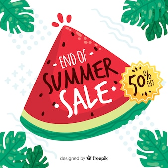 Fine delle vendite estive