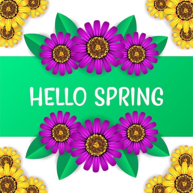 Fiore del tempo di primavera