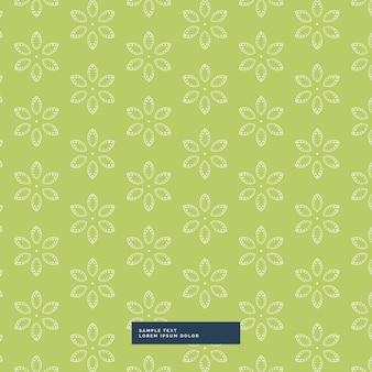 Fiore verde pattern di sfondo