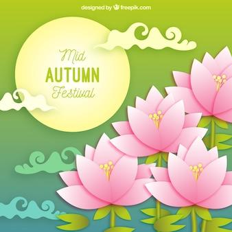 Fiori rosa, festival di metà autunno