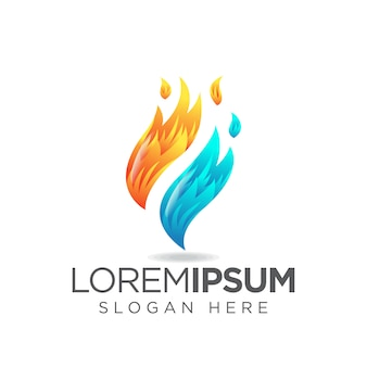 Fire f logo