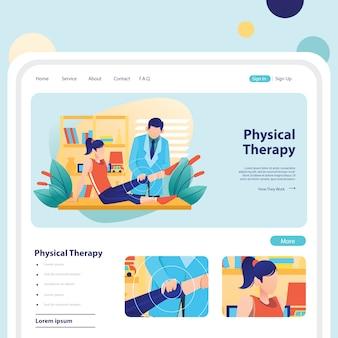 Fisioterapia per lesioni sportive