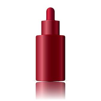 Flacone cosmetico contagocce per olio, essenza, siero.