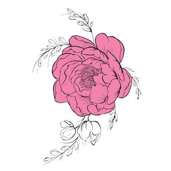 Flower design concept