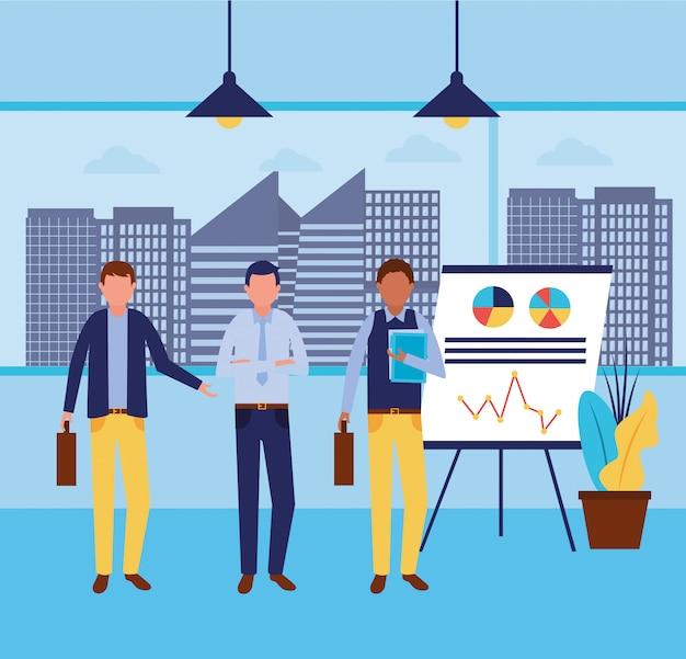Flusso di lavoro e infografica