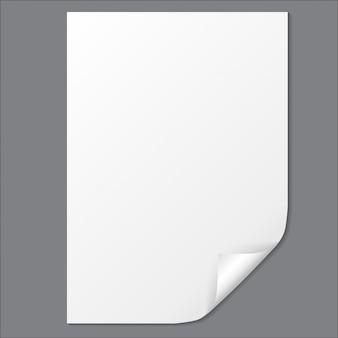Foglio di carta vuoto