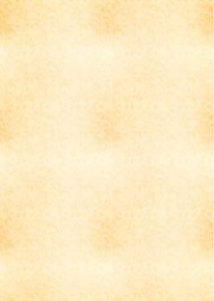 Foglio giallo a4 verticale di vecchia carta