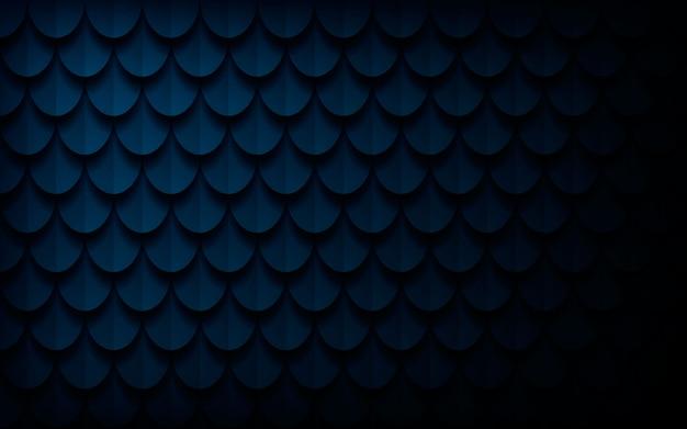 Fondo astratto blu scuro moderno di struttura 3d