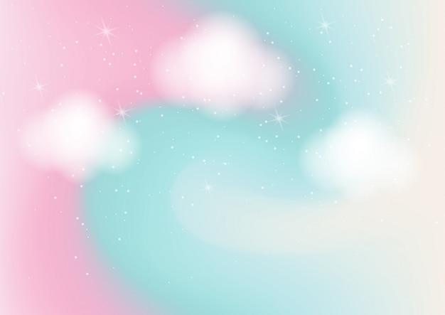 Fondo astratto di colore pastello con bokeh