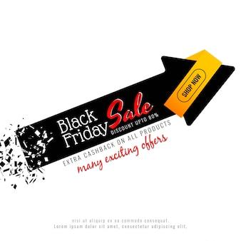 Fondo astratto di vendita di black friday