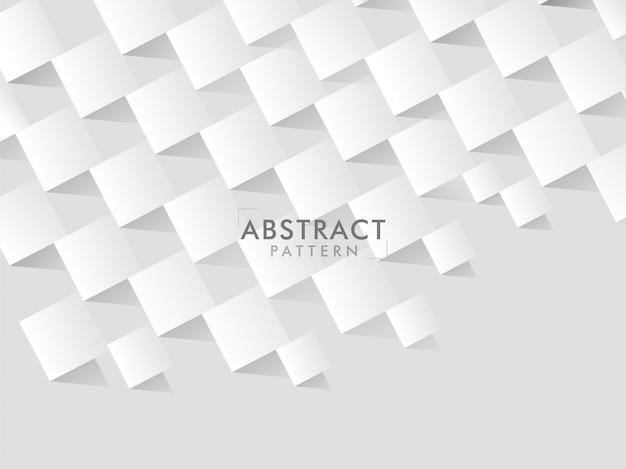 Fondo astratto geometrico quadrato di struttura del taglio del libro bianco.