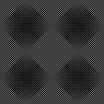 Fondo astratto in bianco e nero del modello quadrato