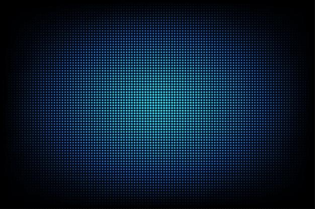 Fondo astratto leggero di tecnologia per internet e l'affare del sito web del grafico di computer. sfondo blu scuro