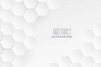 Fondo bianco di concetto medico geometrico