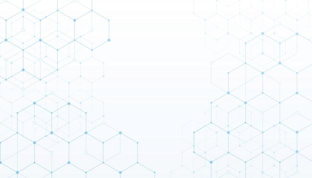 Fondo bianco di dati digitali del collegamento di tecnologia.