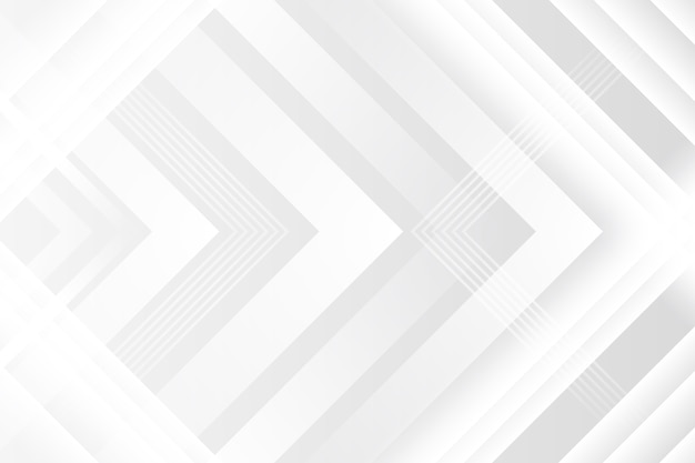 Fondo bianco poligonale di struttura con le frecce