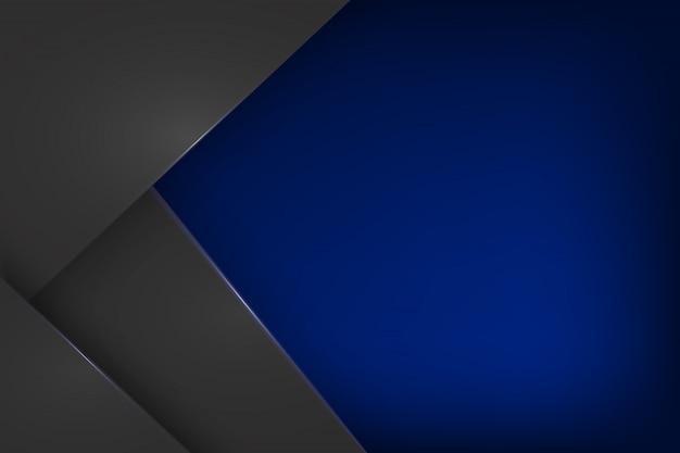 Fondo blu astratto