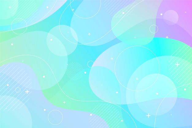 Fondo blu pastello dell'oceano e spazio della copia