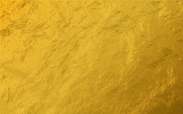 Fondo brillante di struttura della foglia della stagnola di oro
