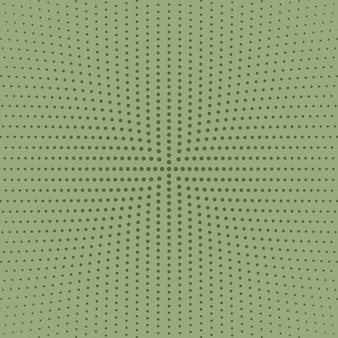 Fondo circolare astratto in bianco e nero geometrico del punto