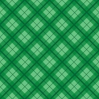 Fondo d'annata verde del tartan di natale
