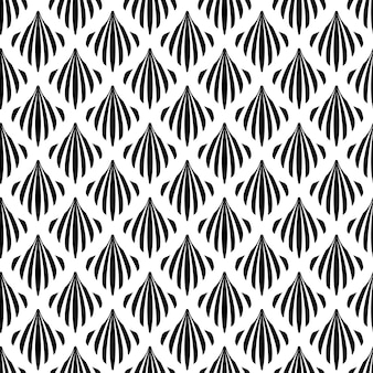 Fondo decorativo di art deco seamless pattern texture