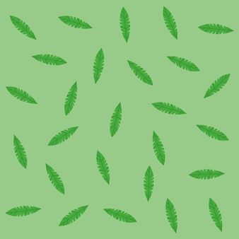 Fondo del modello delle foglie verdi