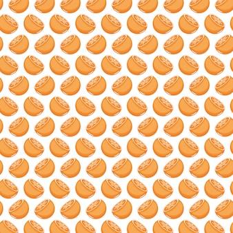 Fondo del modello di arance fresche